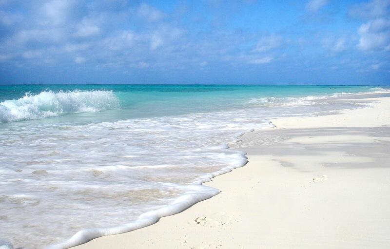 kuba moře pláž