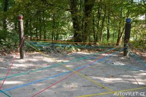 Labyrintárium Loučeň - provazové bludiště