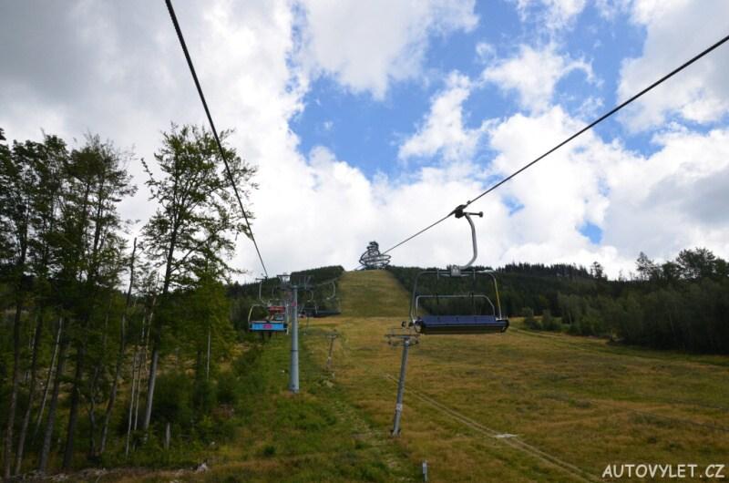 Lanovka Dolní Morava - Stezka v oblacích
