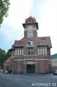 Horní stanice lanovky Imperial - Karlovy Vary