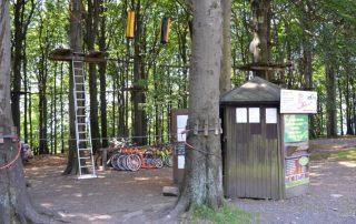 Lanový park Jedlová - Jiřetín pod Jedlovou