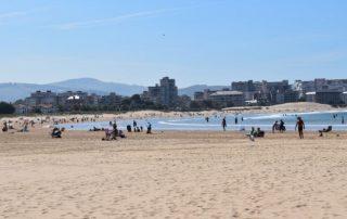 Laredo Španělsko - písečná pláž