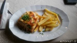 lasagne hranolky