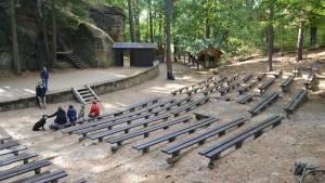 Lesní divadlo - Sloup v Čechách