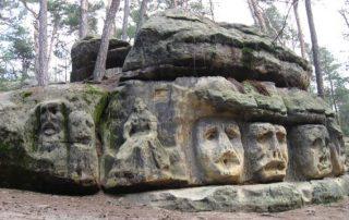 lesní sochy václava levého