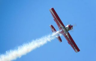 letadlo akrobacie