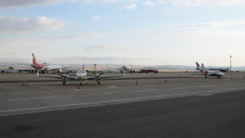 letiště burgas letadla bulharsko