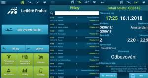 Letiště Praha - mobilní aplikace