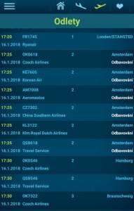 Letiště Václava Havla Praha - přílety a odlety letadel online 07