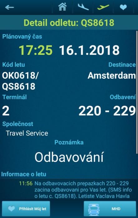 Letiště Václava Havla Praha - přílety a odlety letadel online 08