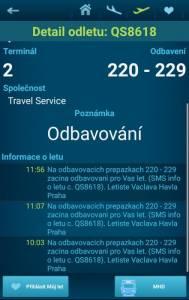 Letiště Václava Havla Praha - přílety a odlety letadel online 09