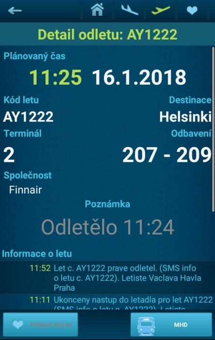 Letiště Václava Havla Praha - přílety a odlety letadel online 11