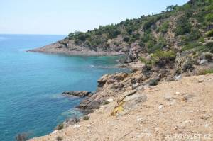 Limenaria Thassos Řecko