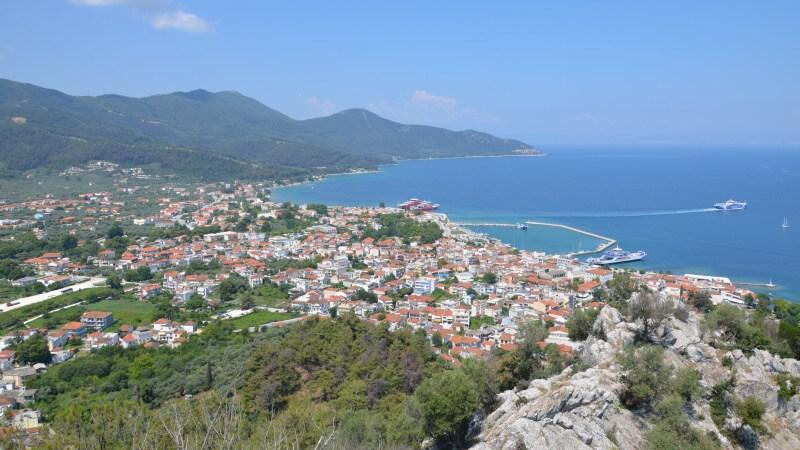Limenas Thassos - hlavní město