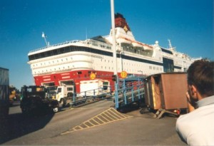 Loď do Finska