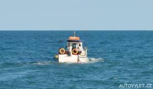 lodí do nesebaru v bulharsku