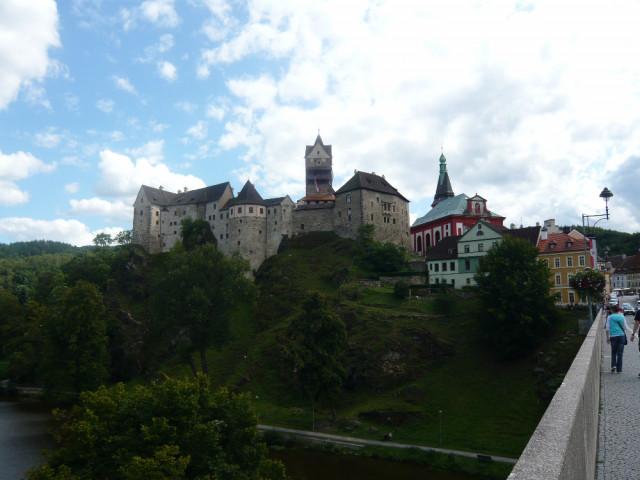 Loket nad Ohří - hrad