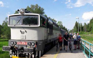 Lokomotiva řady 754 - Nové Údolí