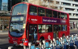 londýn autobusem
