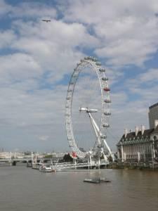 Londýnské oko v Anglii