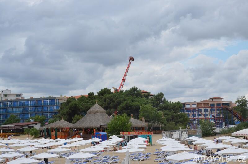lunapark sunny beach slunečné pobřeží bulharsko