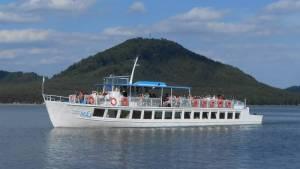 máchovo jezero výletní loď máj