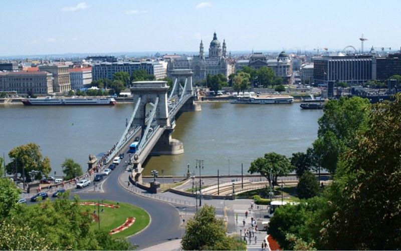 Maďarsko Budapešť - centrum