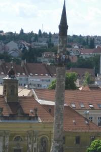 Minaret - Maďarsko Eger