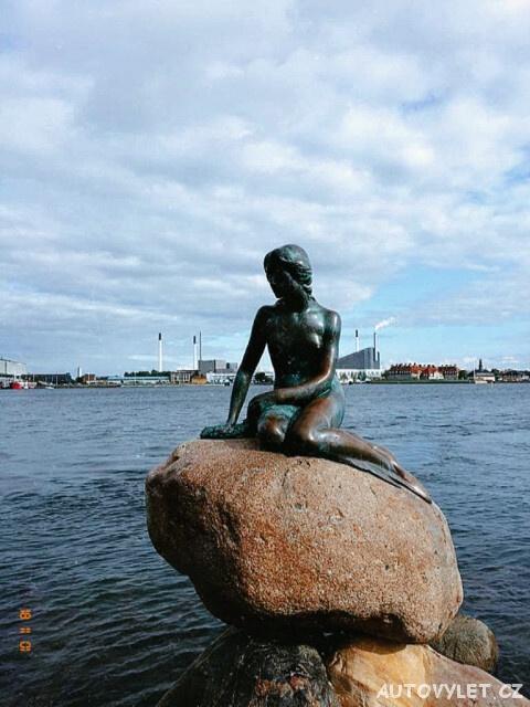 Malá mořská víla - Kodaň Dánsko