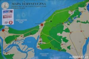 Mapa - vyhlídka Gosan Mezizdroje Polsko