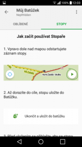 mapy.cz offline navigace android 04