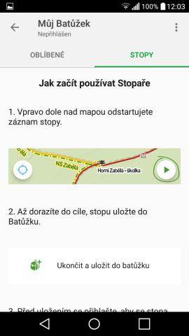 Mapy.cz – nejlepší turistické offline mapy do mobilu zdarma 4