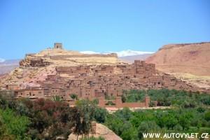 Berberská vesnice Maroko