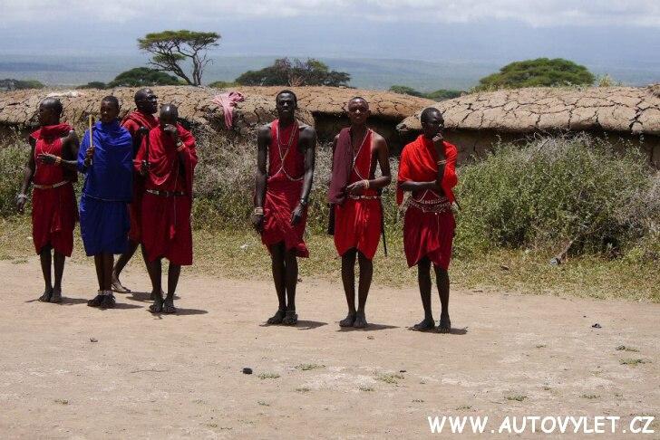 Masajové Keňa