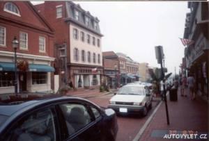 Město Annapolis - USA