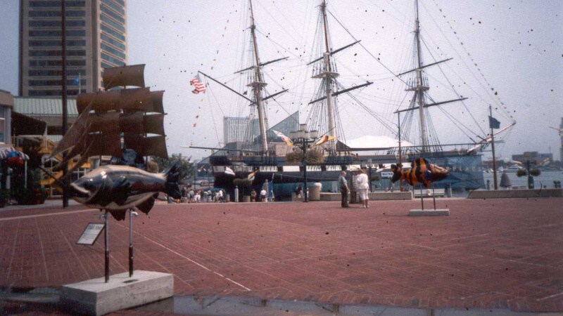 Město Baltimore - USA