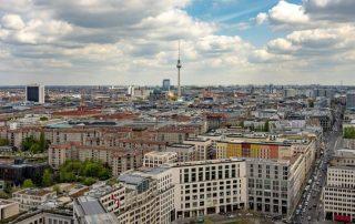 Město Berlin Německo