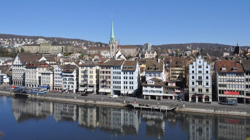 Město Curych Švýcarsko