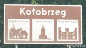 Město Kolobrzeg Polsko