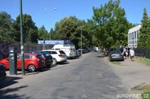 Město Kolobřeh Polsko - parkování
