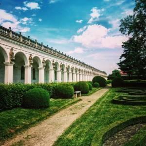 Město Kroměříž zahrady