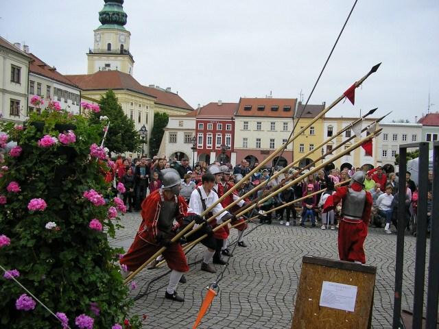 Město Kroměříž akce