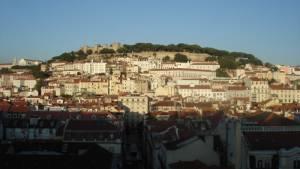 Město Lisabon Portugalsko