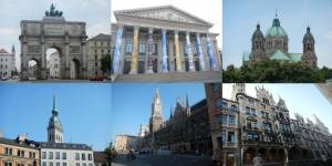 Město Mnichov - Německo