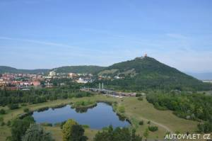 Město Most a hrad Hněvín