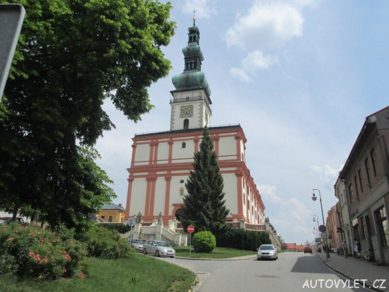 Město Polná - kostel s vyhlídkovou věží