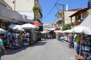 Město Potos Thassos Řecko