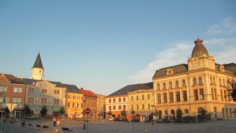 Město Přerov - náměstí T.G.Masaryka