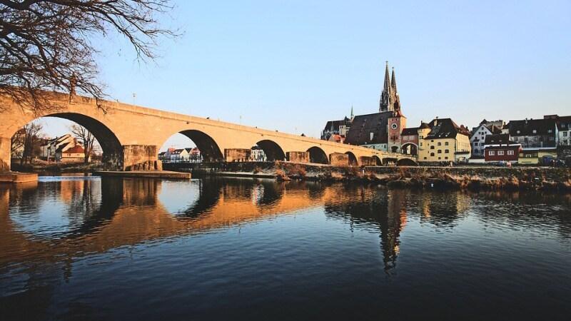 Město Regensburg - Bavorsko Německo