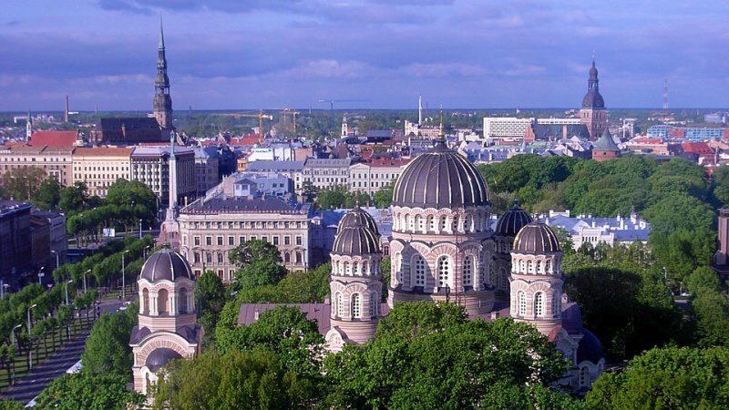 Město Riga Lotyšsko